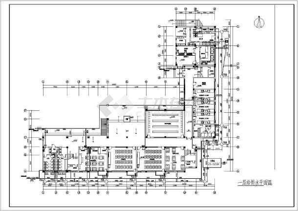 某地小学教学楼给排水设计施工方案图-图2
