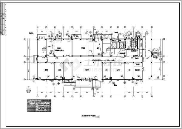 某医院全套给排水及消防自动喷淋设计施工图-图2