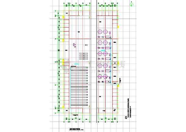 某纺织厂车间除尘空调系统cad施工图-图2