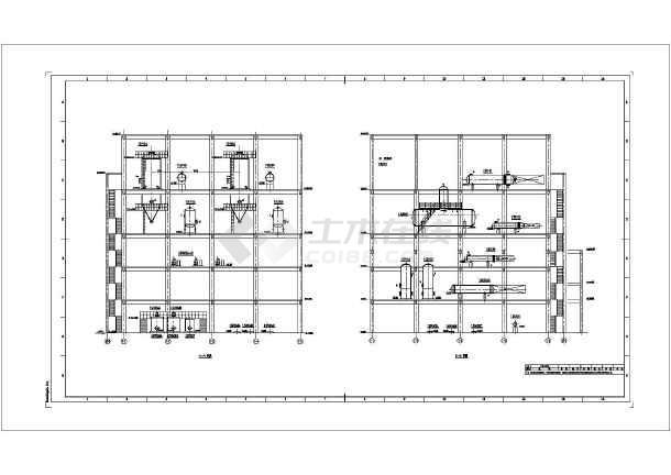 某地沙龙365渣水处理设备布置设计施工图-图1