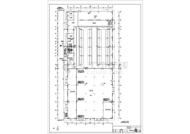某地厂房车间给排水及消防设计施工图-图1
