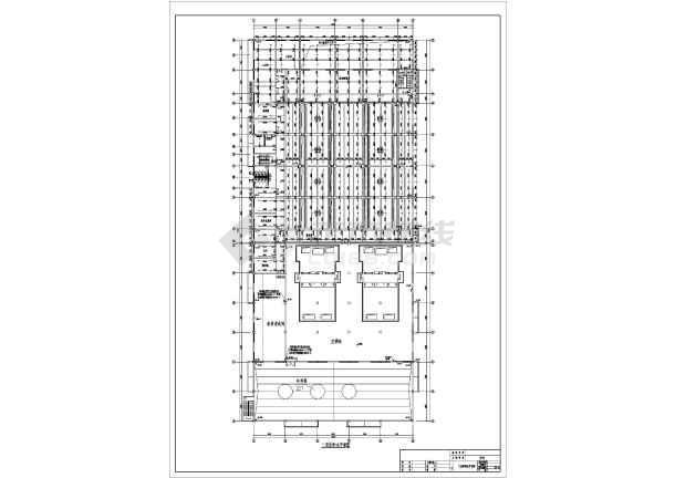 某地厂房车间给排水及消防设计施工图-图3