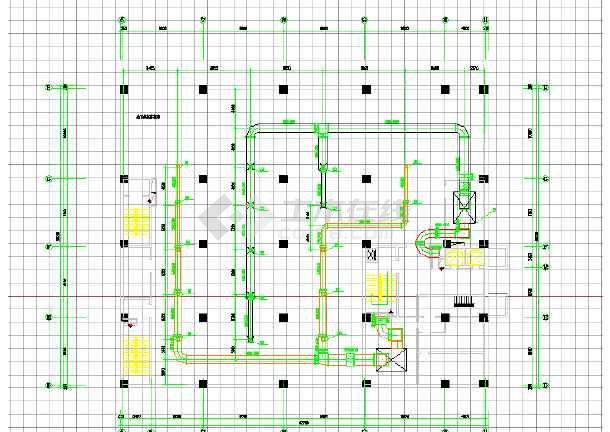 某住宅建筑全套空调工程cad施工图-图1