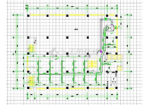 某住宅建筑全套空调工程cad施工图-图3