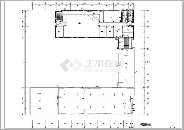 中小学教学楼给排水及消防设计施工图-图1