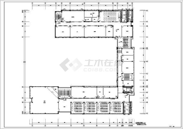 中小学教学楼给排水及消防设计施工图-图2