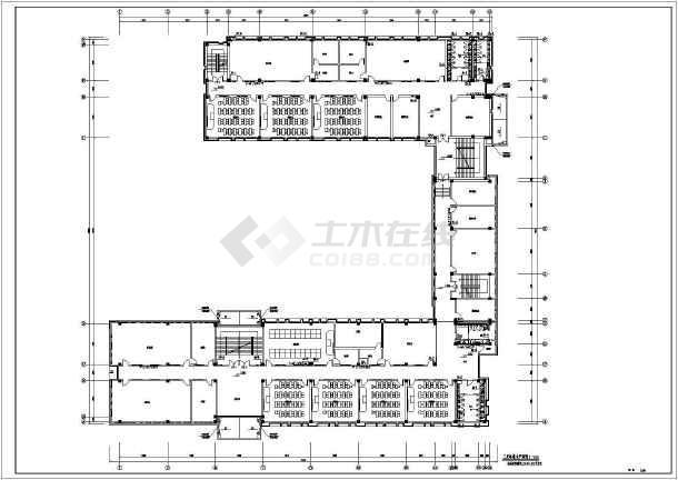 中小学教学楼给排水及消防设计施工图-图3