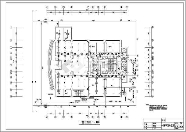 高层酒店给排水及消防自动喷淋设计施工图-图1