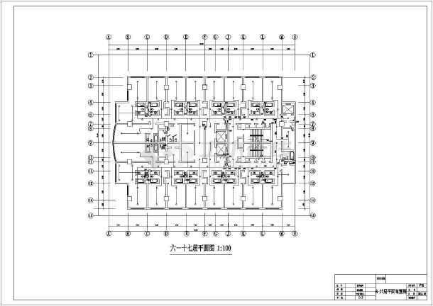 高层酒店给排水及消防自动喷淋设计施工图-图2