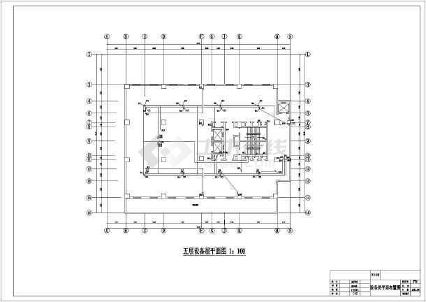 高层酒店给排水及消防自动喷淋设计施工图-图3