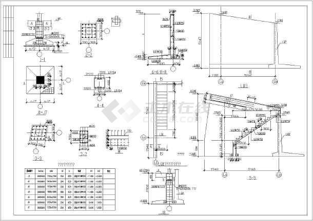 整套二层钢结构别墅的结构设计完整的cad施工设计图-图3