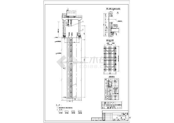 水电站全套建筑设计cad施工图纸案例-图2