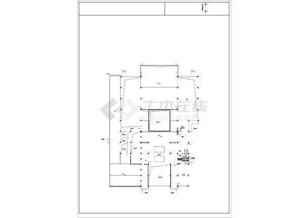 某地博物馆建筑沙龙365设计施工方案图-图1