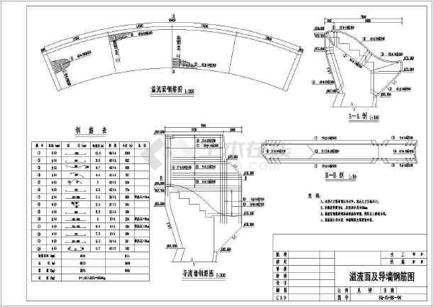 某水电站设计cad详细施工图素材-图2
