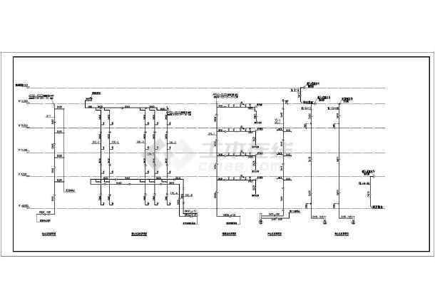 某地制衣厂厂房沙龙365设计施工图纸-图1