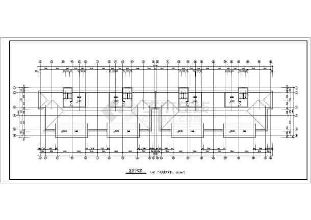 12层小高层住宅楼建筑设计CAD施工图带效果图-图3