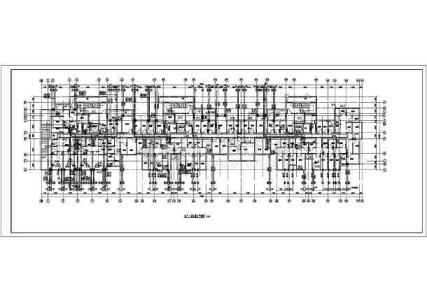 某地高层住宅楼带地下室给排水设计施工图-图1