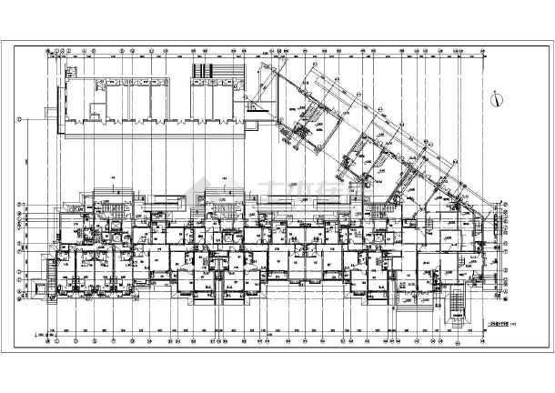 某地高层住宅楼带地下室给排水设计施工图-图2