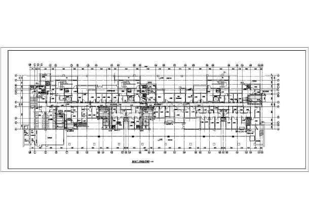 某地高层住宅楼带地下室给排水设计施工图-图3