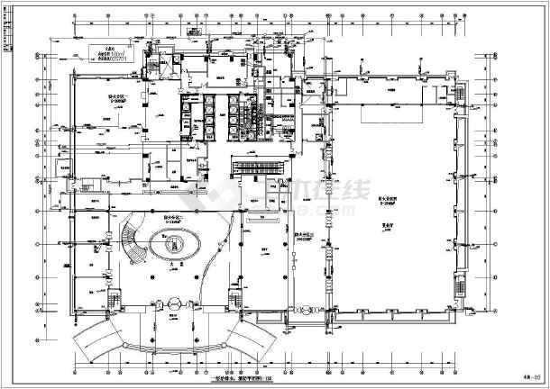 超高层五星级酒店沙龙365设计施工图-图1