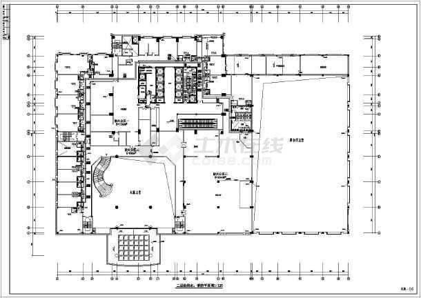 超高层五星级酒店沙龙365设计施工图-图2