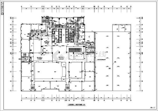 超高层五星级酒店沙龙365设计施工图-图3