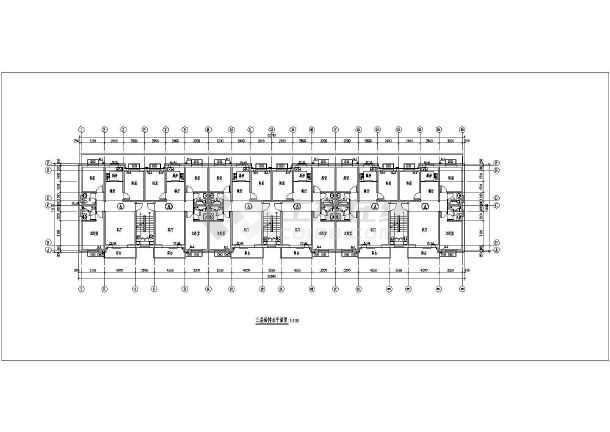 多层住宅楼给排水及消防设计施工图-图3