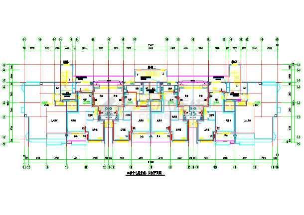 某商住大楼及地下车库采暖通风系统cad施工图纸-图2