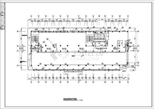某地高层医院全套给排水设计施工图-图3