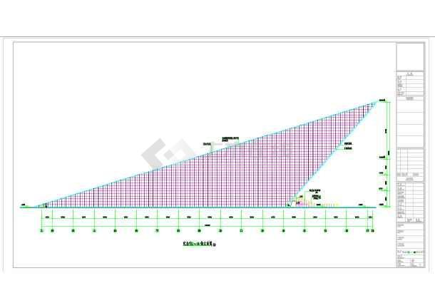 某市渡江战役纪念馆规划与建筑设计工程图纸-图1