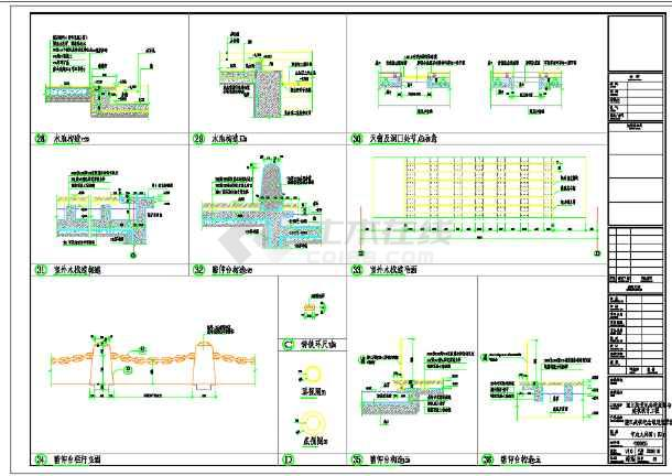 某市渡江战役纪念馆规划与建筑设计工程图纸-图2