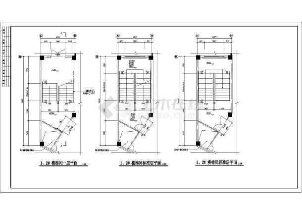 某地职业技术学院建筑设计施工图纸-图1