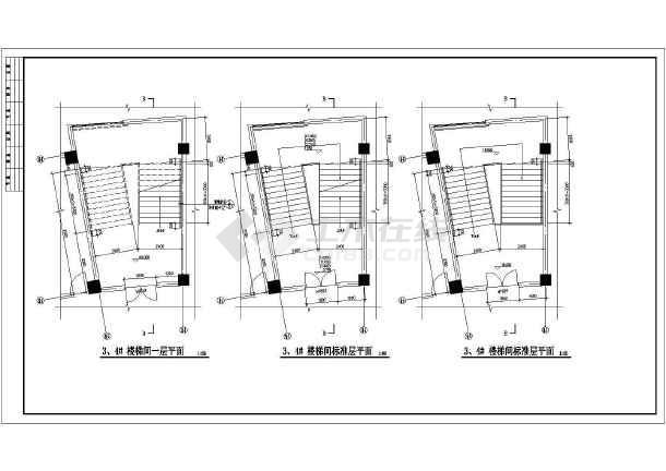 某地职业技术学院建筑设计施工图纸-图2