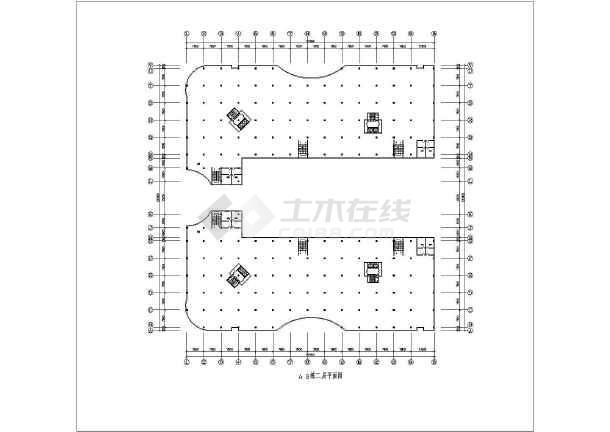 十八层电梯商住楼建筑施工全套方案cad设计图纸-图1