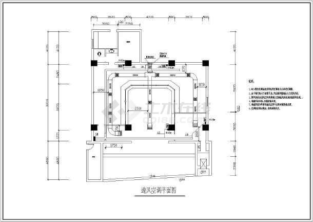 某地小型办公楼电气施工图(共6张)-图1