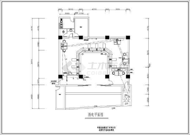 某地小型办公楼电气施工图(共6张)-图2