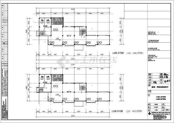 某地区住宅明珠苑规划建筑cad设计-图2