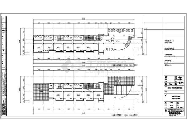 某地区住宅明珠苑规划建筑cad设计-图3