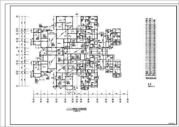 某地小型医院结构设计图纸(节点详细)-图3