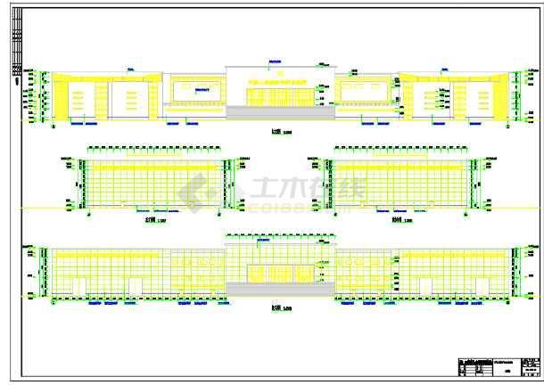 中国某装备陈列馆建筑设计方案(含效果图)-图3