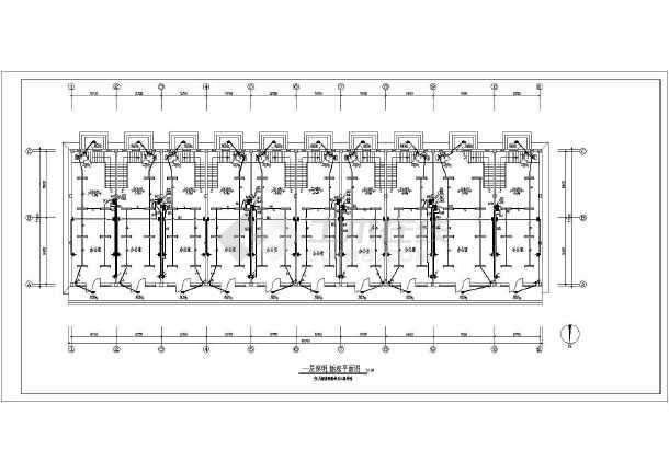 某地小型办公楼电气设计图 (含设计说明)-图1