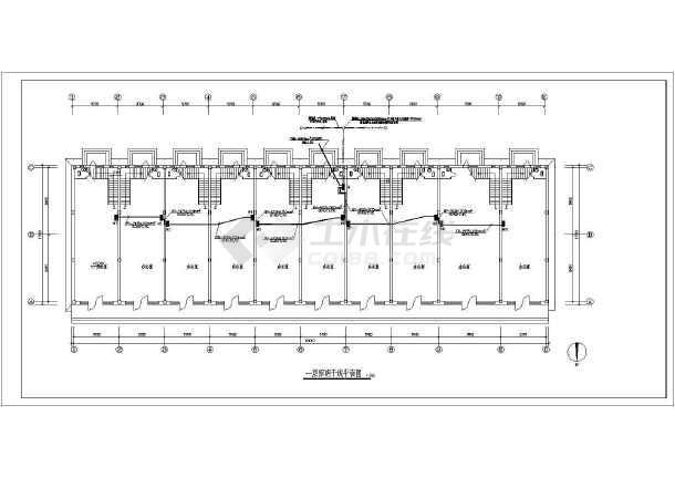 某地小型办公楼电气设计图 (含设计说明)-图3
