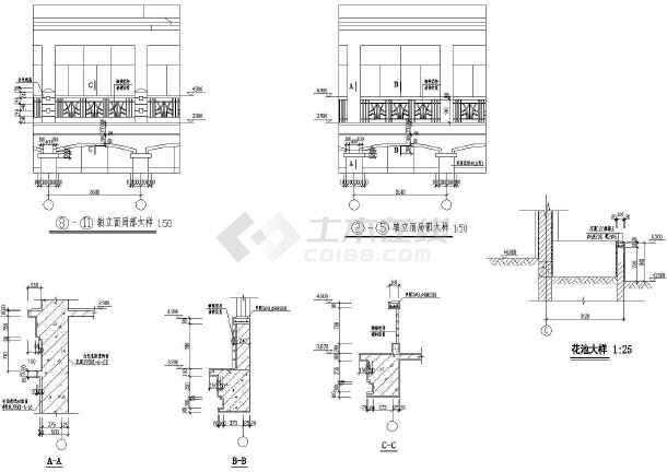 某地区大型山庄会馆建筑施工图(全套)-图2