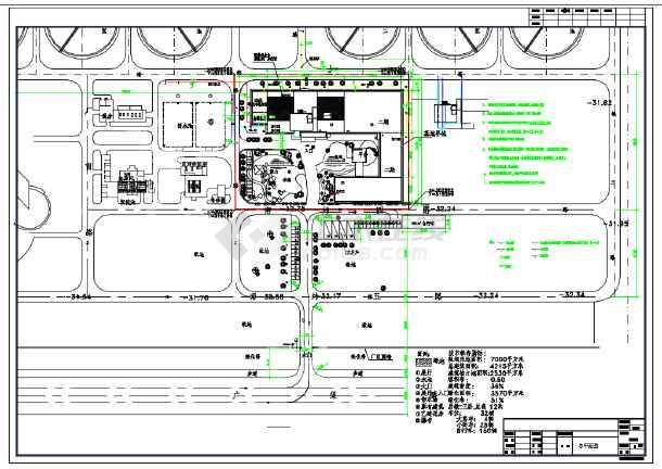 某地科普展览馆建筑设计施工CAD图含效果图-图1