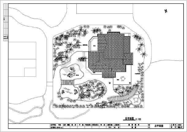 某三层12.9x11.6米别墅建筑施工图-图2