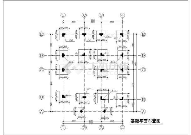 某三层独栋别墅建筑结构及水电全套设计图-图3