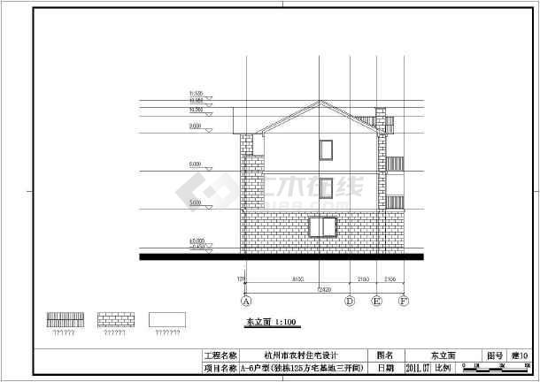某别墅建筑结构及电气全套设计图纸-图3