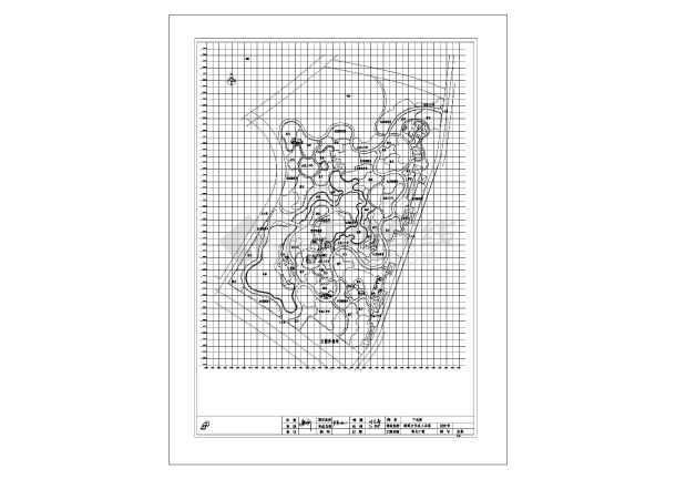 某地文化名人公园绿化工程设计施工图-图3