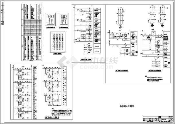 施工人防地下室整套图纸的完整cad防空设计石材外装饰电气图纸图片