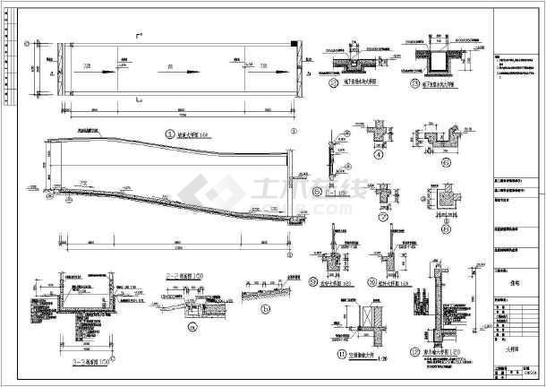 某13.6x15.4米独栋别墅建筑施工图-图1